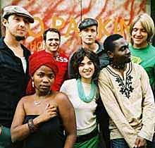 BOOK FRESHLYGROUND. A South African Afro-fusion band that formed in Cape Town in 2002. The band members variously hail from South Africa, Mozambique, and Zimbabwe