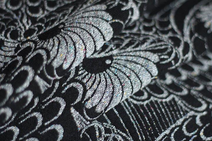 Linuschka Owls The Danish Girl Wrap (yakwool, japanese silk)
