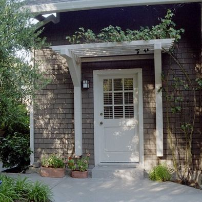 17 best ideas about front door awning on pinterest metal for House back doors for sale