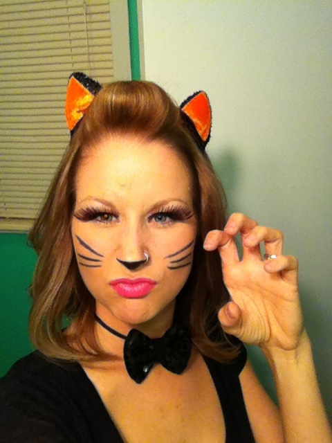 Best 20+ Cat makeup for halloween ideas on Pinterest | Simple cat ...