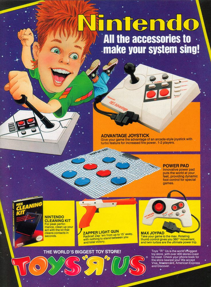 Get all the accessories to make your NES sing from Toys