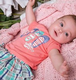 Dirkje babykleding T-shirt Fabulous (roze)