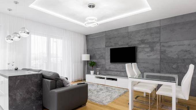 Znalezione Obrazy Dla Zapytania Sufit Podwieszany Salon Home Home Decor Dream House