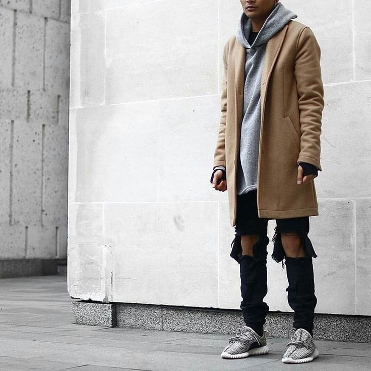 "TRILLEST OUTFIT on Instagram: ""◼ Make sure you follow @lostboystyle ________________________________________________ Jacket: Topman Hoodie: Pageslondon Jeans: Pageslondon Shoes: Yeezy boost 350"