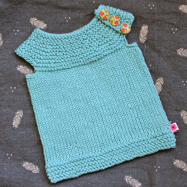 Knitting Pattern For Ruffle Baby Vest : Top 25+ best Baby vest ideas on Pinterest Baby knits, Knitted baby clothes ...