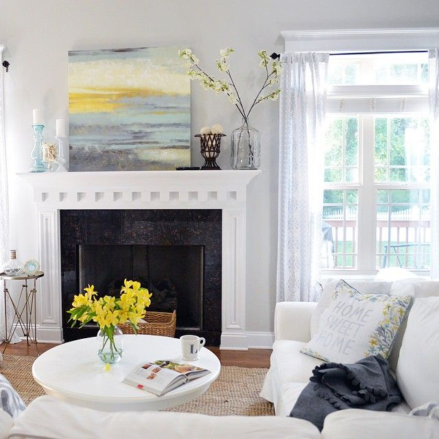 36 Living Room Decorating Ideas That Smells Like Spring: Lazy Gray SW 6254 - Sherwin-Williams
