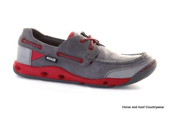 Chatham Marine LTD Aqua-Go Coasteer G2 Performance Sailing Shoes - Grey The Aqua-go Coasteer G2 performance sailing shoe have an ultralight