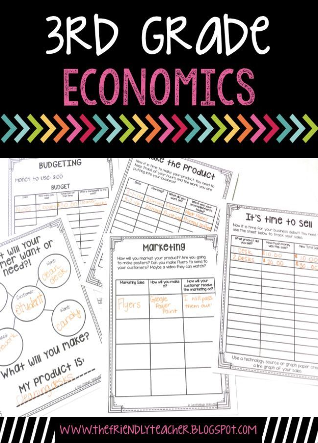 Economics lessons for kids! This is a social studies project that your kids will love!