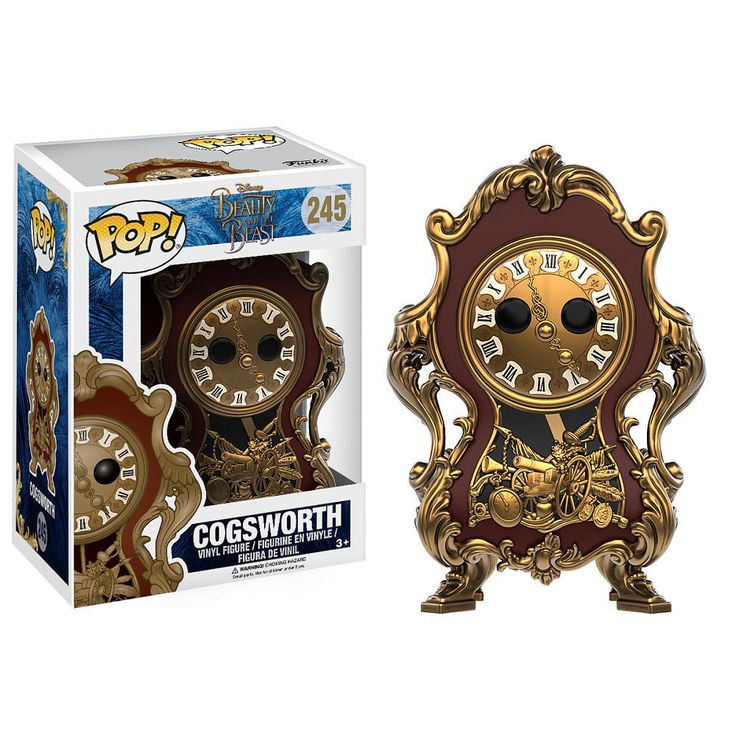 Live action Beauty & the Beast Cogsworth