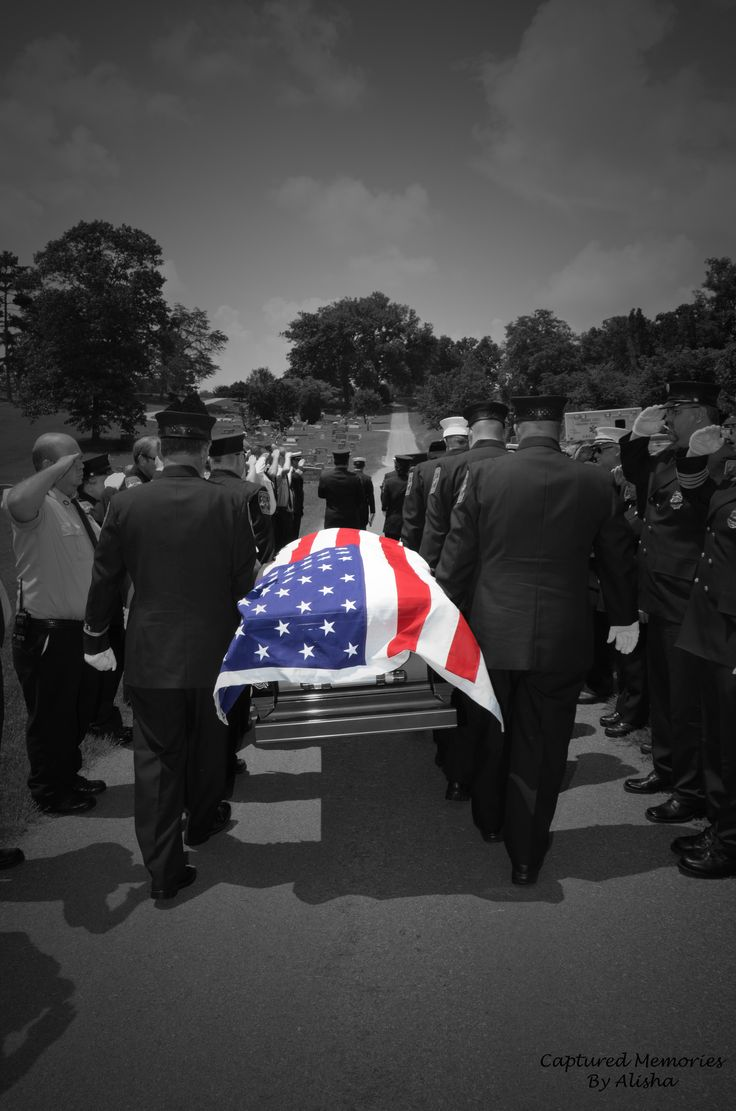 Firefighter being laid to rest - such a strong brotherhood.  Rest In Peace, Lt. David Curlin