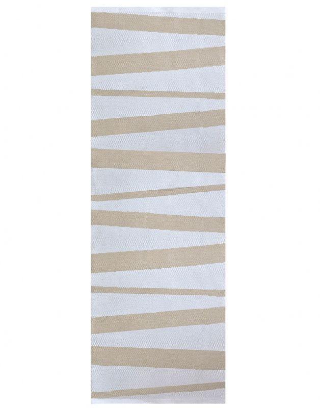 Sofie Sjöström Åre Sweden Carpet beige - white bei Villatmo | VILLATMO - Designer Möbel, Lampen & Accessoires