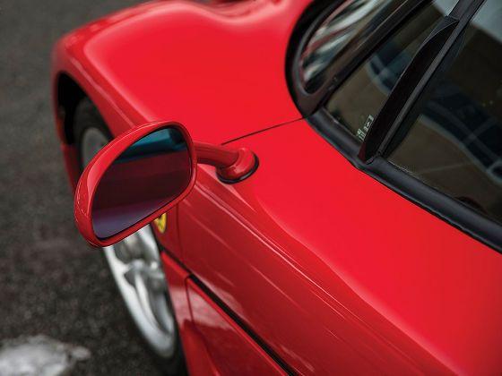 マイク・タイソンが乗っていたフェラーリ・F50がオークションに約2億5000万円の予想落札価格で出品中 - GIGAZINE
