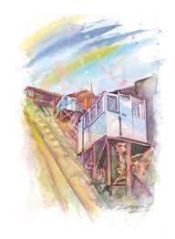 Resultado de imagen para dibujos de ascensores de valparaiso para pintar