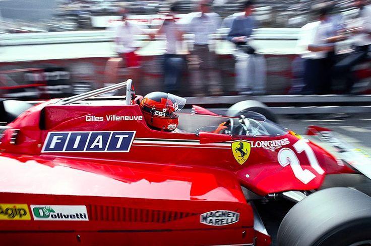 Gilles Villeneuve (Ferrari) Saison 1981 - Formula 1 HIGH RES photos (Old and New) Facebook