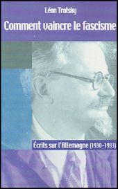 """""""Allemagne 1930-33 : la situation du prolétariat, trahi par ses dirigeants, est quasi-désespérée. Face au désastre qui approche, Trotsky analyse la situation et en déduit les tâches de l'avant garde dans une série d'études magistrales. Ultérieurement, après la défaite sans combat de la classe ouvrière allemande, il ouvre pour la première fois la perspective de la construction d'un nouveau parti ouvrier révolutionnaire dans ce pays."""" marxists.org"""