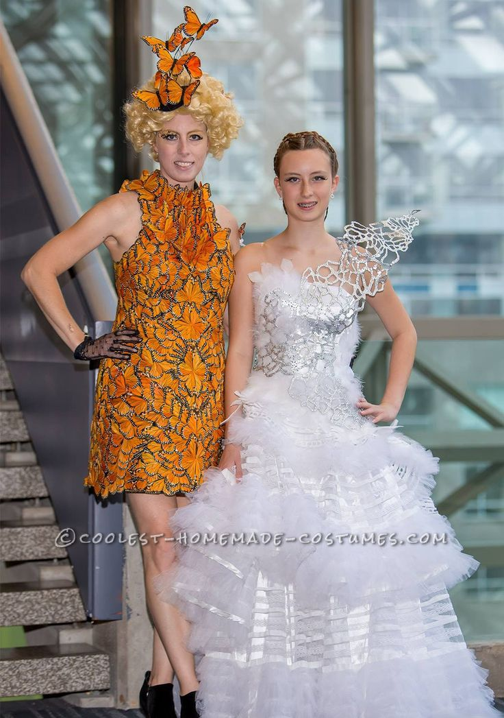 Mother and Daughter Hunger Games Costume... Coolest Halloween Costume Contest