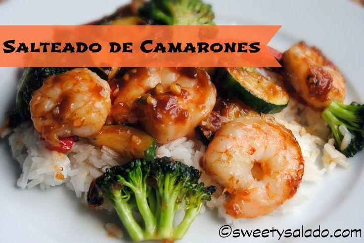 Sweet y Salado: Salteado de Camarones