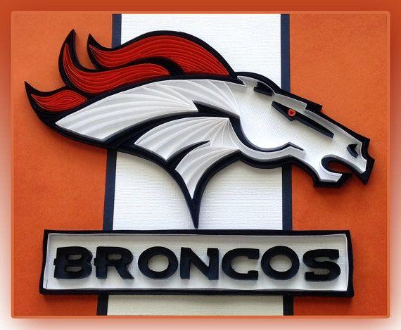 Quilling - Denver Broncos Logo, Super Bowl Champions!
