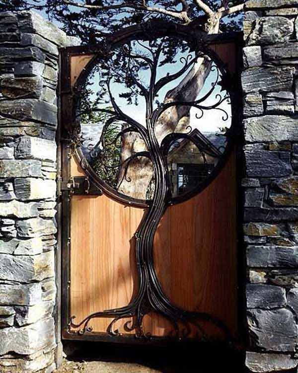 207 Best Images About Great Gates & Fences On Pinterest | Gardens