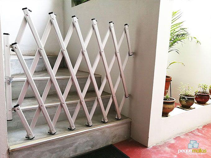 Rejas De Seguridad Pequemallas Rejas De Seguridad Rejas Para Escaleras Puertas De Escaleras Para Bebé