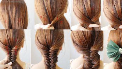 IgaFashion: Łatwe fryzury do szkoły.