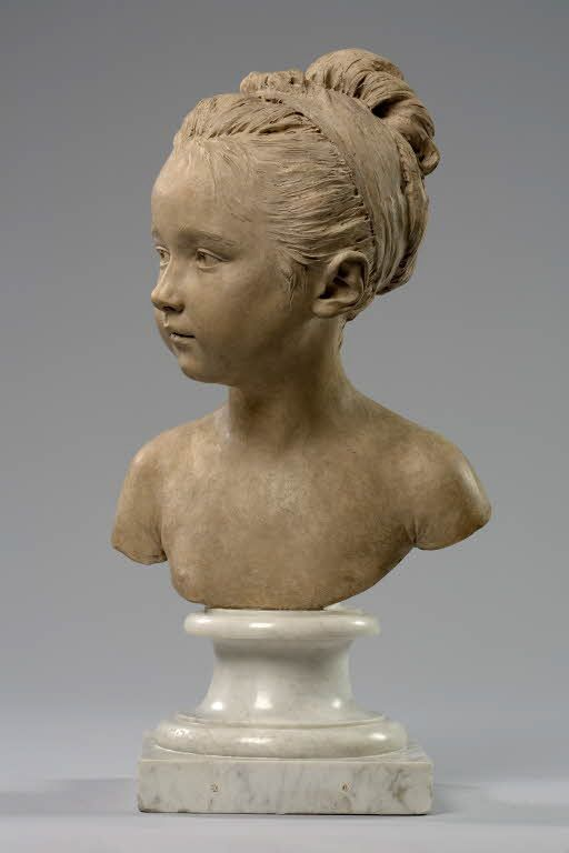 Jean Antoine Houdon (1741-1828) - Louise Brogniart