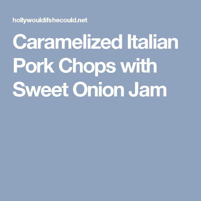 Italian pork chops mozzarella recipe