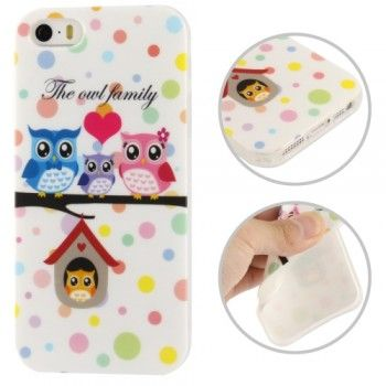 iPhone 5/5S Cases : Stylish Owl Pattern TPU Case for iPhone 5 & 5S