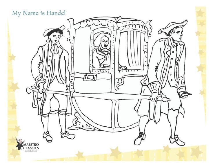 Free Gee Frideric Handel printable