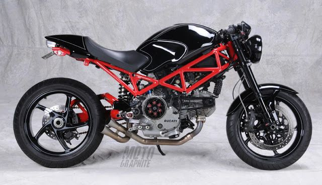 motographite: DUCATI MONSTER S2R 800 SPECIAL by ANALOG MOTORCYCLES                                                                                                                                                                                 More