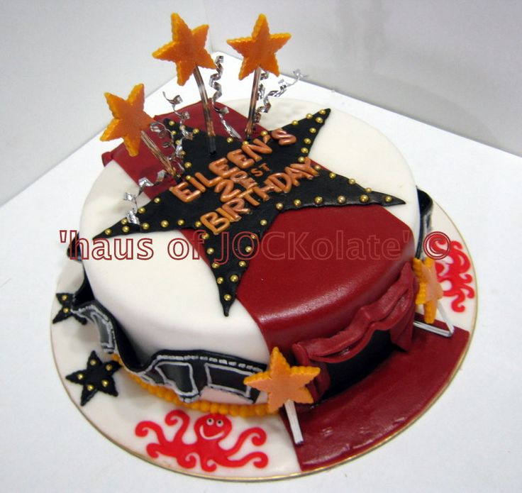 Movie Themed Cake Designs : 11 best images about ideas for bday cake for livs movie ...