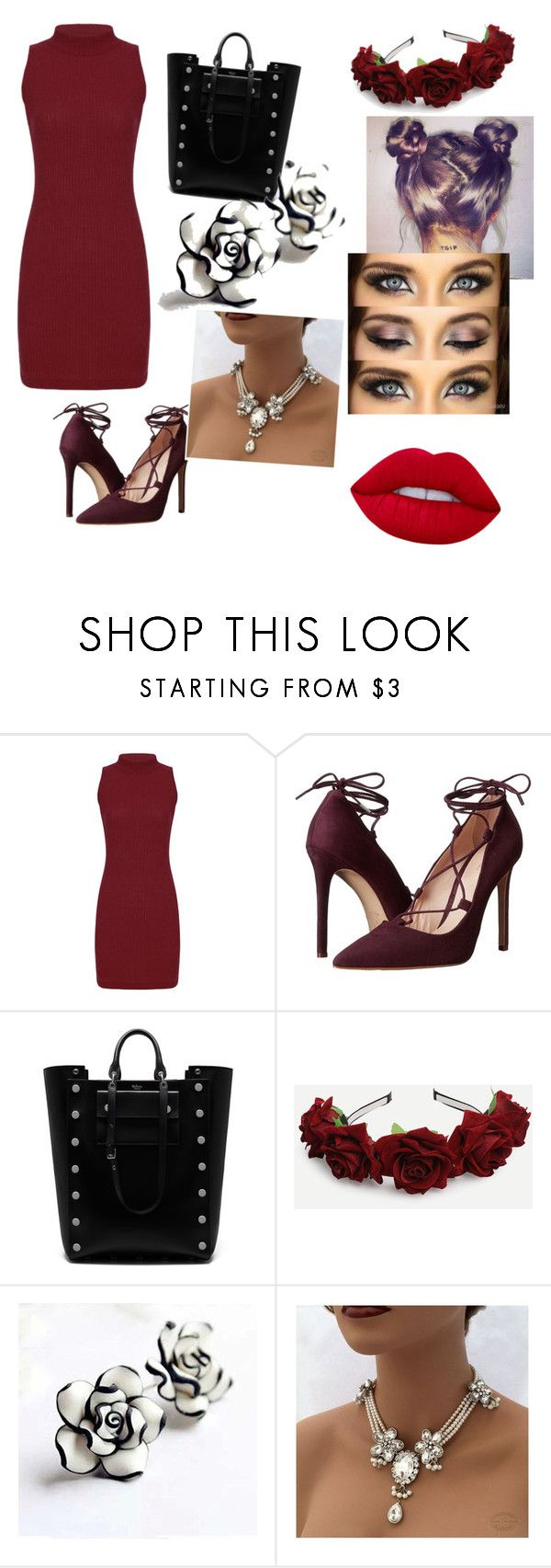 """""""Hawaiian Breeze"""" by melissa-kalay ❤ liked on Polyvore featuring Massimo Matteo, Mulberry and Lime Crime"""