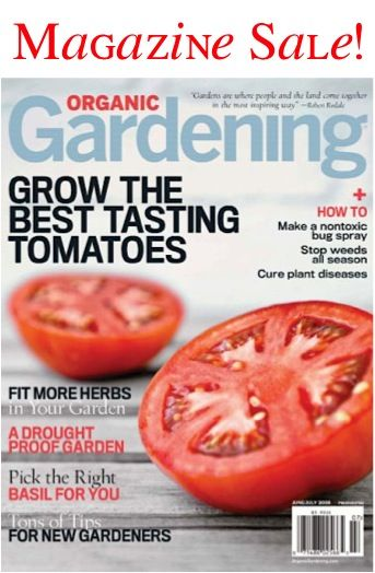17 Best ideas about Organic Gardening Magazine on Pinterest