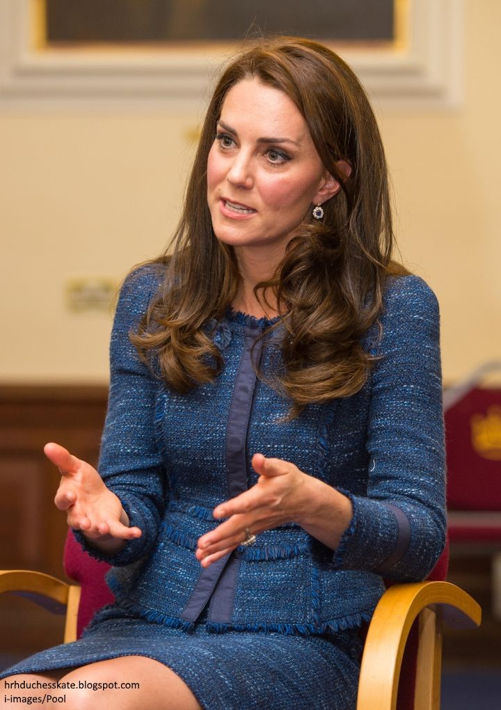 The Duchess of Cambridge visited King's College Hospital this afternoon to visit those affected by the London Bridge and Borough Market atta...