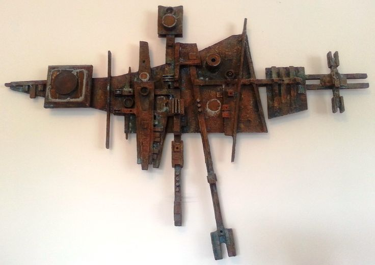 A very early sculptural piece by Arthur Dagley, title unknown