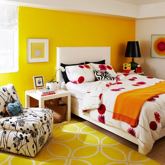 24 best images about color spotlight yellow on pinterest Bright yellow wall paint