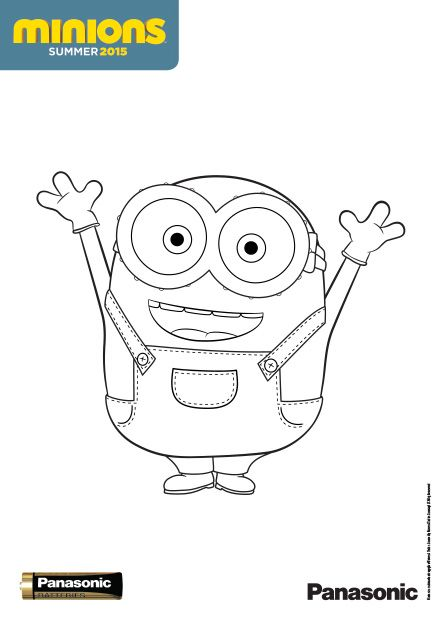 38 best images about Kleurplaten Minion's on Pinterest ...