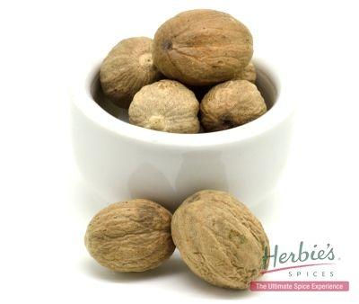 whole nutmegs