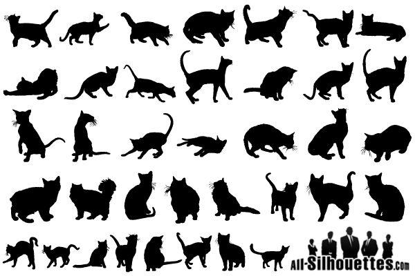 Free Cat Vectors — Crafthubs