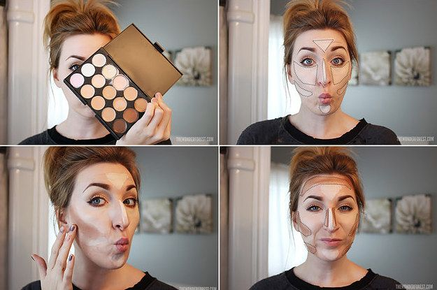 There is so much info, really good pin if you don't know how to use makeup (or just feel that way!) Class is in session.
