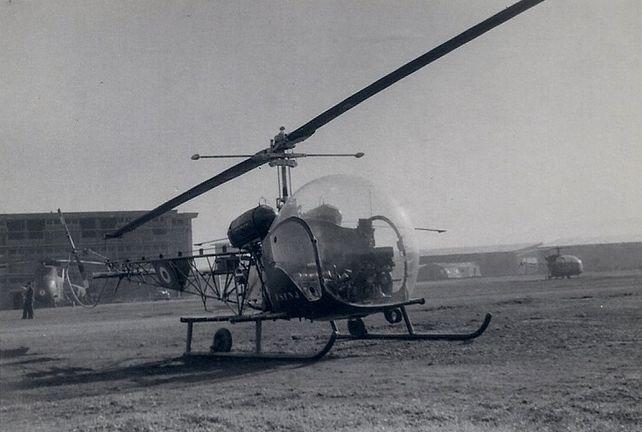 Beel H-13, Boufarik 1956