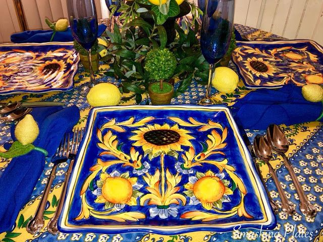 Smashing Plates Tablescapes: When Life Gives You Lemons ...