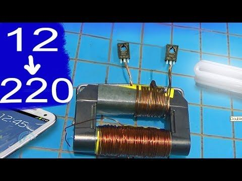 simple inverter circuit diagram using transistor d882 in mosquito racket |  alf - youtube