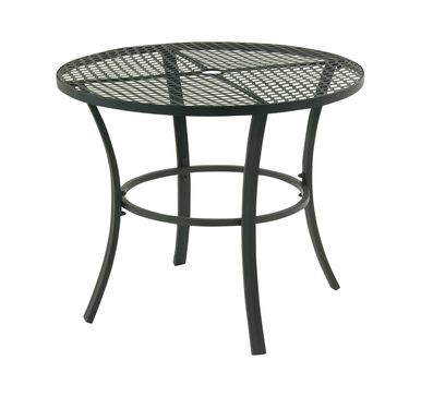 Good-Looking Metal Round Outdoor Table