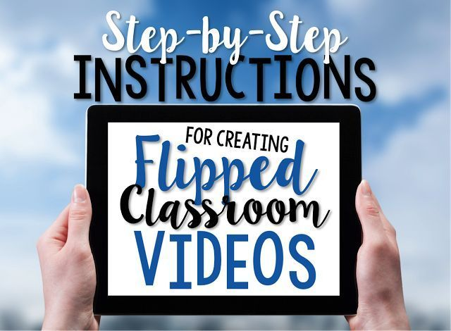 Wow!  This blog post shares an excellent video for creating simple, yet stunning videos for a flipped classroom!