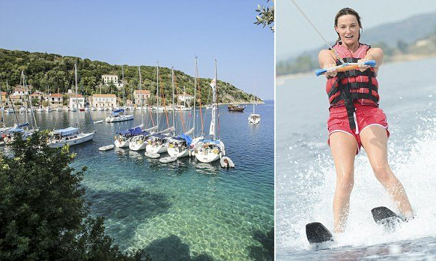 Broadchurch actress Sarah Parish's perfect Greek odyssey