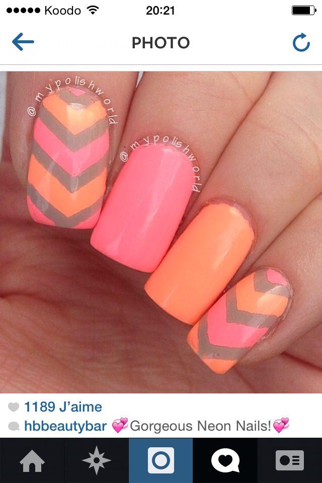 Nail summer :)