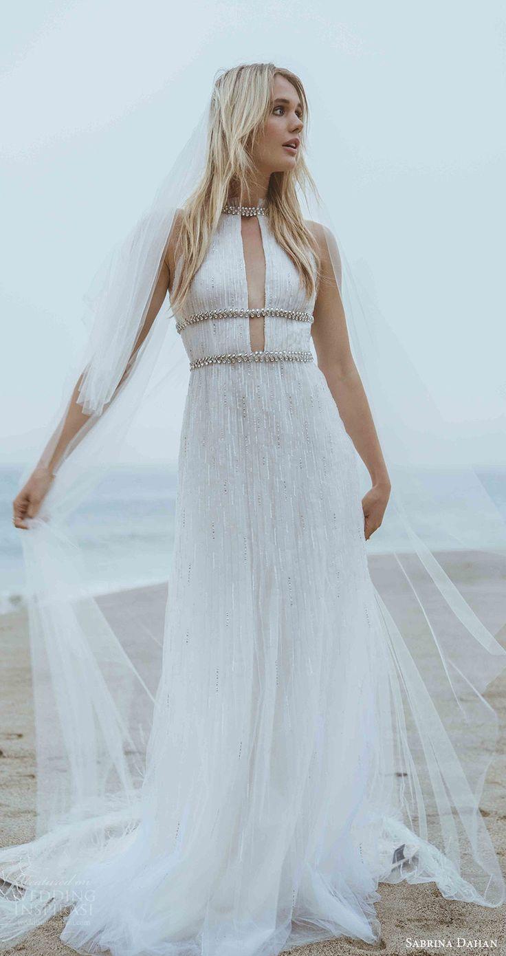 295 best Beach Bridal images on Pinterest | Short wedding gowns ...