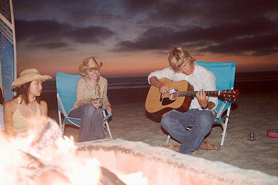 Beach Bonfire Menu