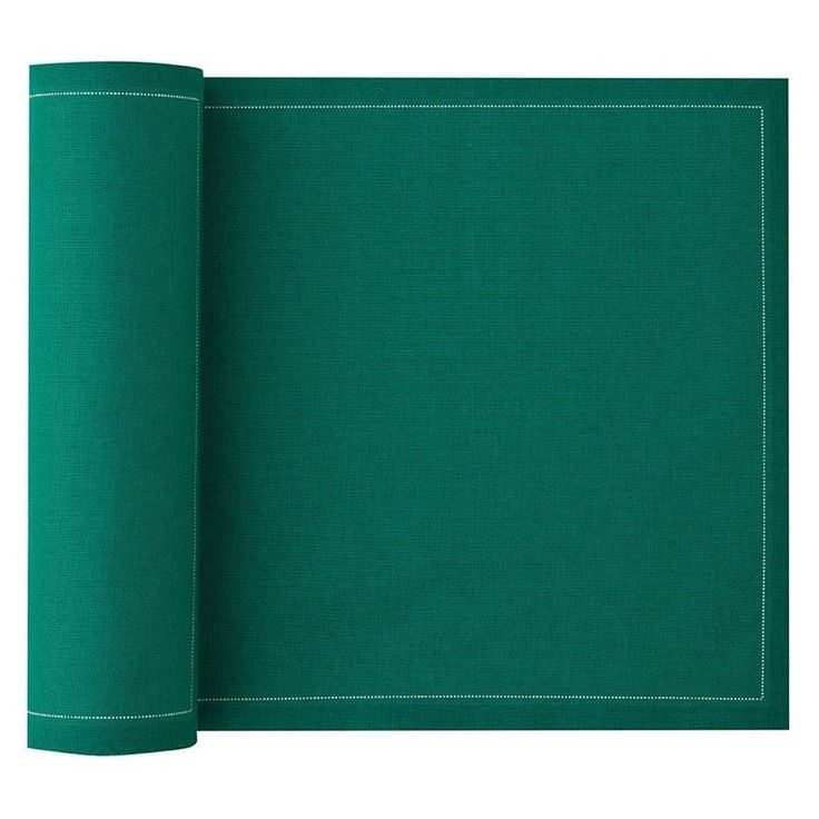 MYdrap Cotton Napkins - Emerald Green